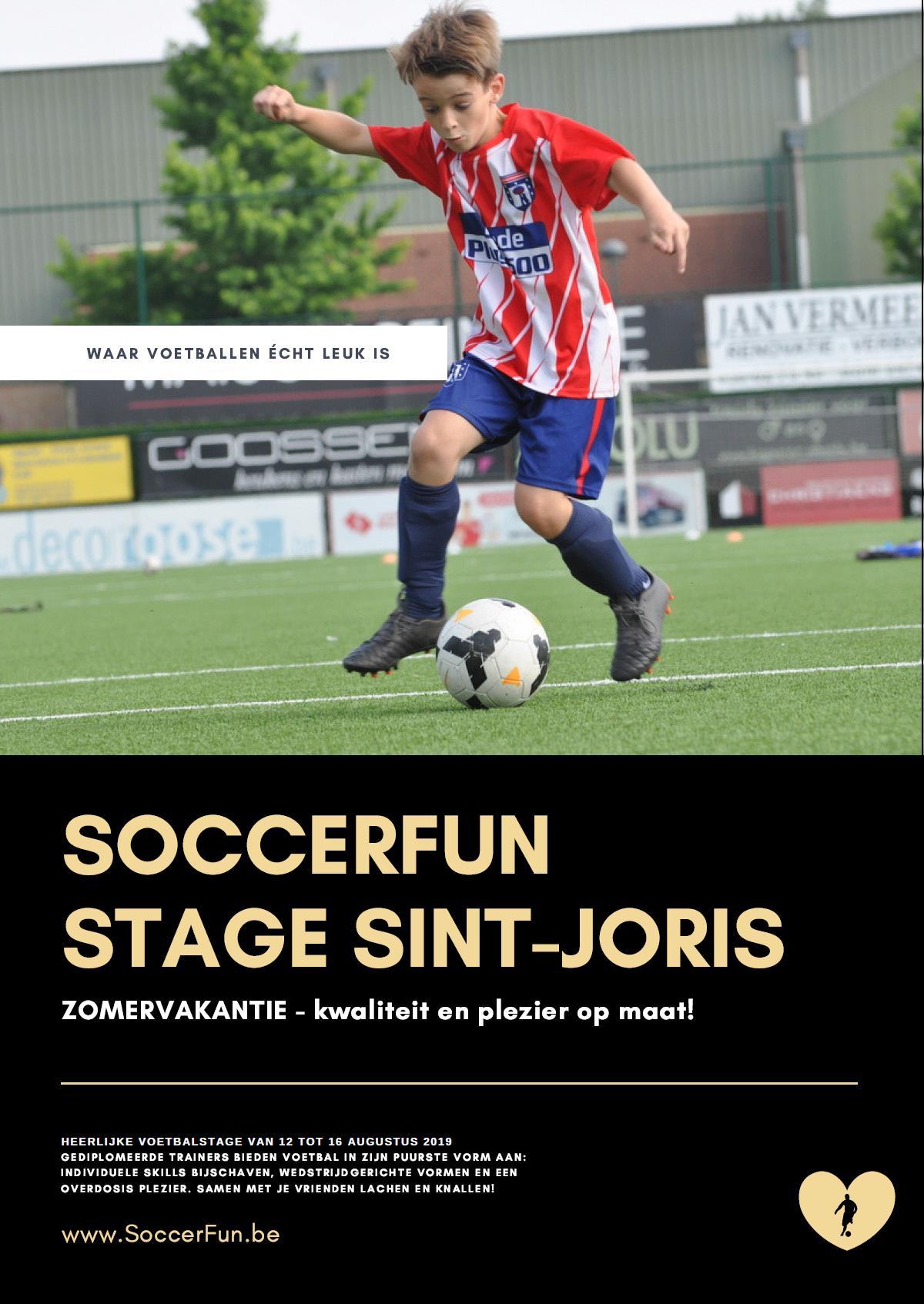 Voetbalstage Soccerfun
